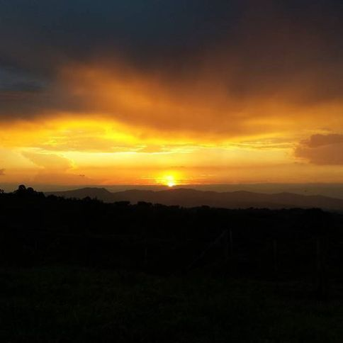 Sunset from Steel Horse Colombia