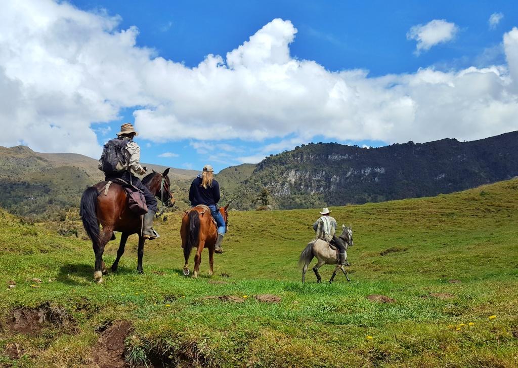Horse riding vacation Columbia
